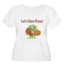 Lets Have Pizza Plus Size T-Shirt