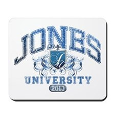 Jones last Name University Class of 2013 Mousepad