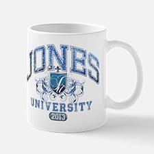 Jones last Name University Class of 2013 Mug