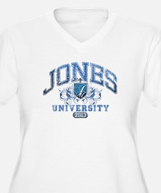 Jones last Name University Class of 2013 Plus Size