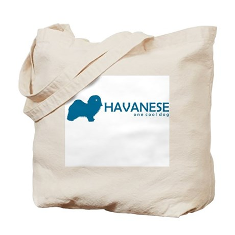 "Havanese ""One Cool Dog"" Tote Bag"