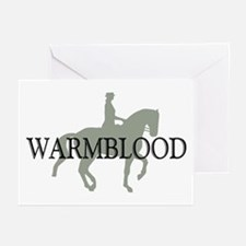 Piaffe Warmblood Greeting Cards (Pk of 10)