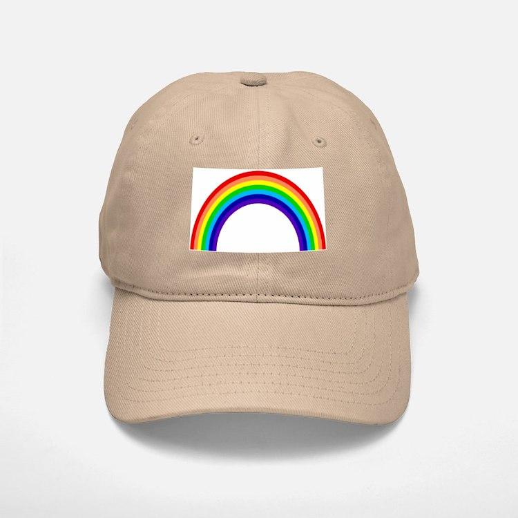 Rainbow Baseball Baseball Cap