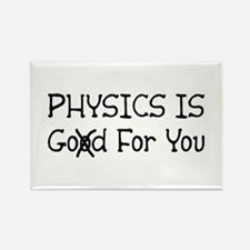 Physics is God Rectangle Magnet