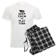 Keep Calm and Play Tuba pajamas