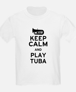 Keep Calm and Play Tuba T-Shirt
