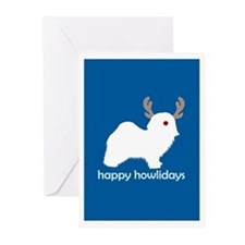 "Havanese ""Happy Howlidays"" Greeting Cards (Package"