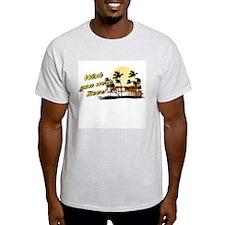 Wish you were beer! Ash Grey T-Shirt