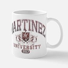 Martinez last name University Class of 2013 Mug
