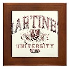 Martinez last name University Class of 2013 Framed