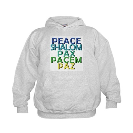 Peace Shirt and Products Kids Hoodie