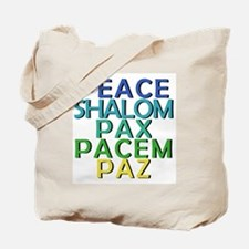 Peace Shirt and Products Tote Bag