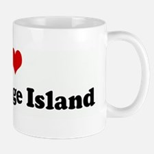 I Love Bainbridge Island Mug
