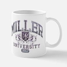 Miller Last Name University Class of 2013 Mug