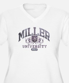 Miller Last Name University Class of 2013 Plus Siz