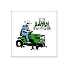 The Lawn Ranger Sticker