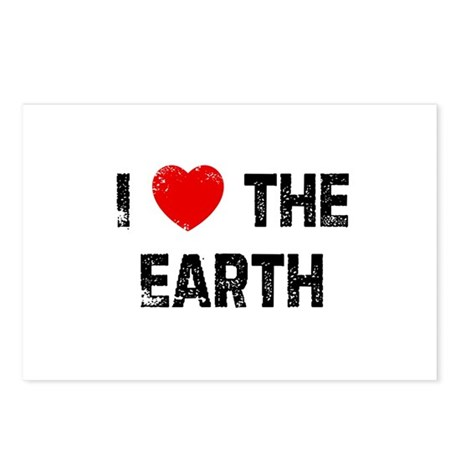 I * the Earth Postcards (Package of 8)