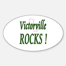 Victorville Rocks ! Oval Decal