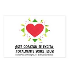Espanol! ¡Excita Corazon! Postcards (Package of 8