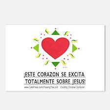 Espanol! ¡Excita Corazon! Postcards (Package of 8