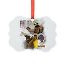 Prayer of St. Francis: Ornament