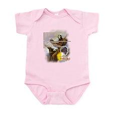 Prayer of St. Francis: Infant Bodysuit