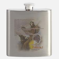 Prayer of St. Francis: Flask