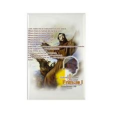 Prayer of St. Francis: Rectangle Magnet