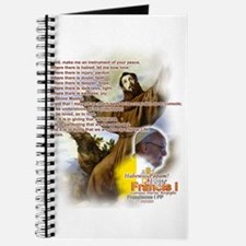 Prayer of St. Francis: Journal