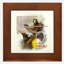 Prayer of St. Francis: Framed Tile