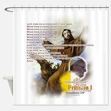 Prayer of St. Francis: Shower Curtain