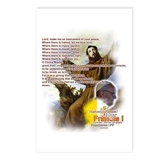 Prayer of St. Francis: Postcards (Package of 8)