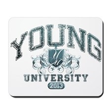Young last Nam University Class of 2013 Mousepad
