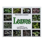 Leaves Wall Calendar