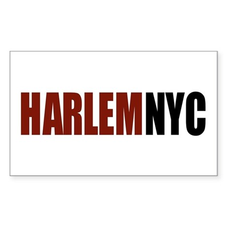 HarlemNYC Rectangle Sticker