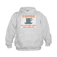[Coffee] Hoodie - Orange