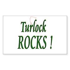 Turlock Rocks ! Rectangle Decal