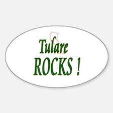 Tulare Rocks ! Oval Decal