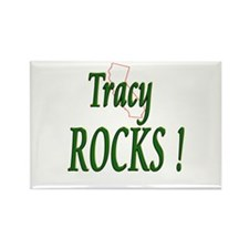 Tracy Rocks ! Rectangle Magnet