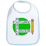 Future Puzzle Lover Snap Bib