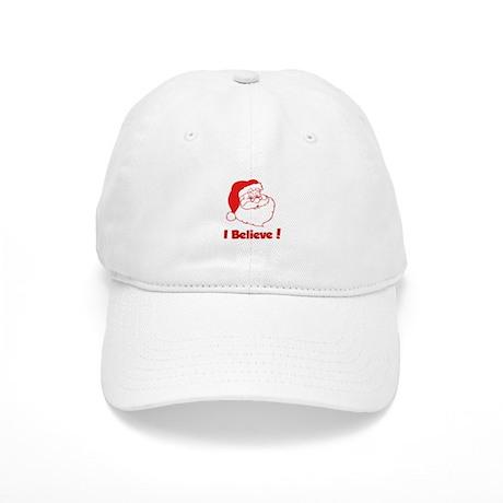 I Believe- Santa Baseball Cap