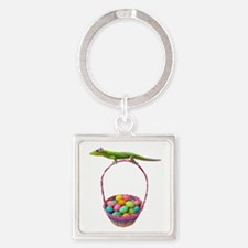 Easter Gecko Keychains