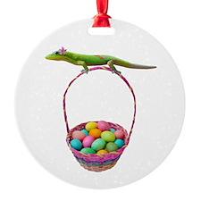 Easter Gecko Ornament