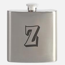 Action Monogram Z Flask