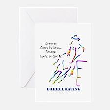 Barrel Racing Greeting Cards (Pk of 10)