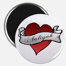 Aaliyah Heart Tattoo Magnet