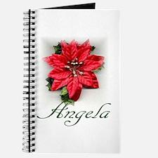 Poinsettia Angela Journal