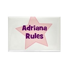 Adriana Rules Rectangle Magnet