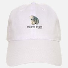 Stop Global Warming Baseball Baseball Cap