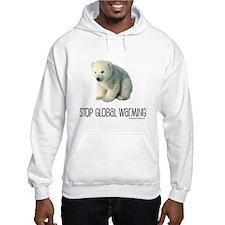 Stop Global Warming Hoodie Sweatshirt
